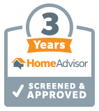 3 Years with HomeAdvisor - Screened & Approved